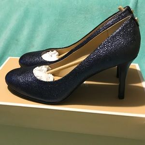 Michael Kors sparkly navy blue size 7 1/2